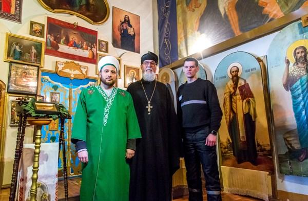 фото с представителями РДУМ и РПЦ