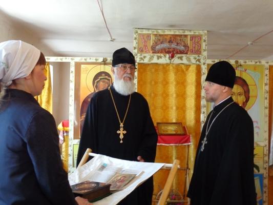 Посещение Епархией ИК-18