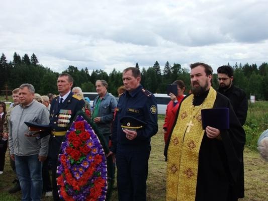 Сотрудники и ветераны ГУФСИН России по Пермскому краю приняли участие в освящении памятника